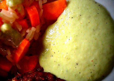 Grøn peber dressing