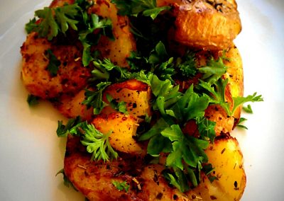 Maste ovn-kartofler