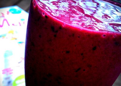 Kirsebærmilkshake