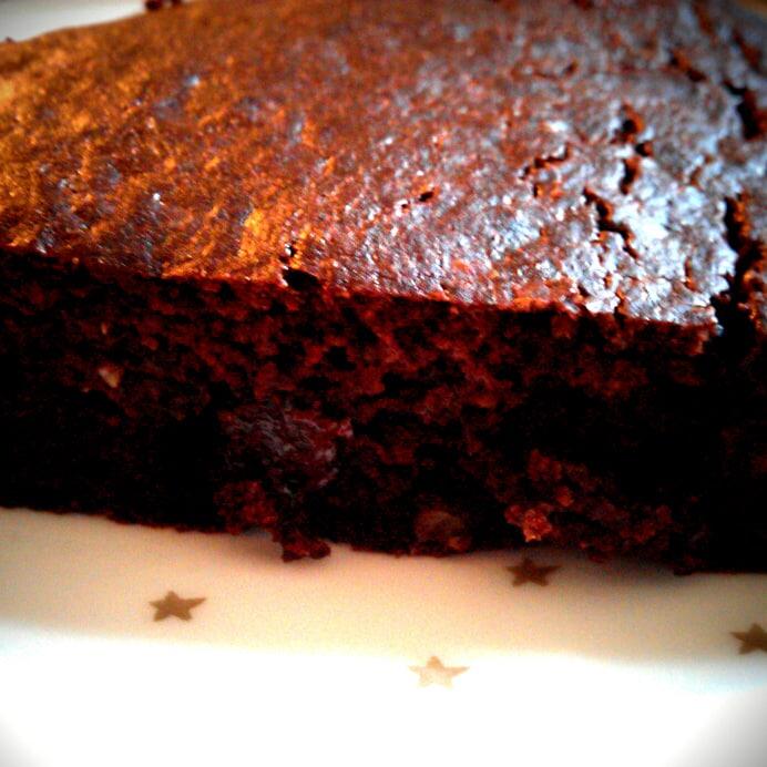 Brownie - lækker, svampet & glutenfri
