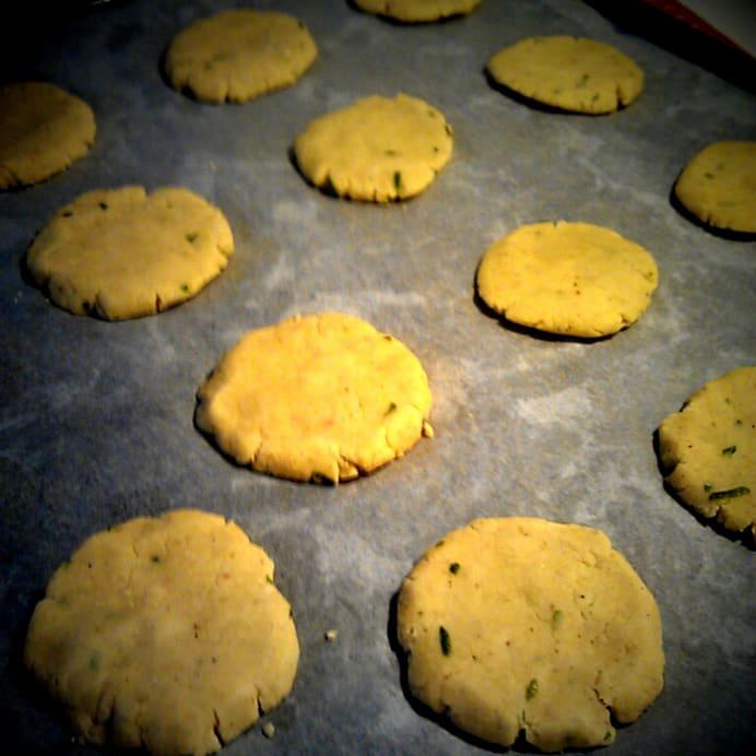 Kardemommesmåkager - før bagning