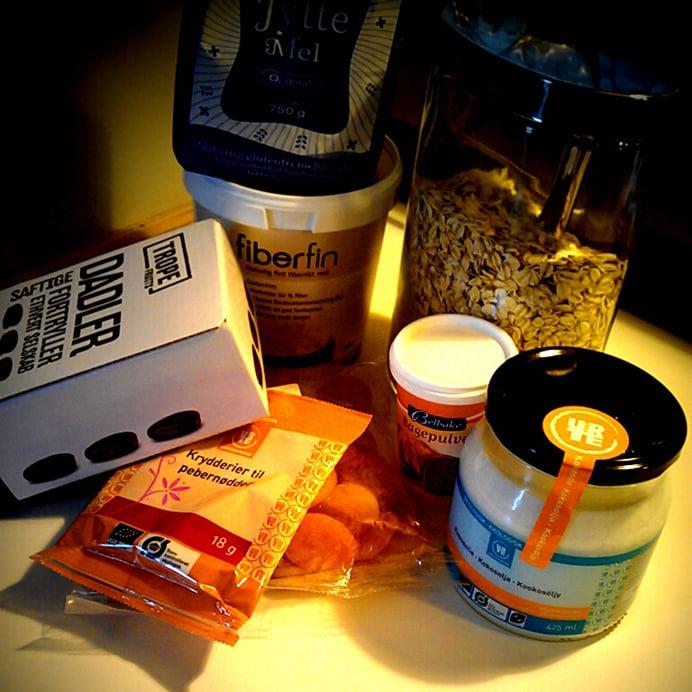 Peberkugler - ingredienser