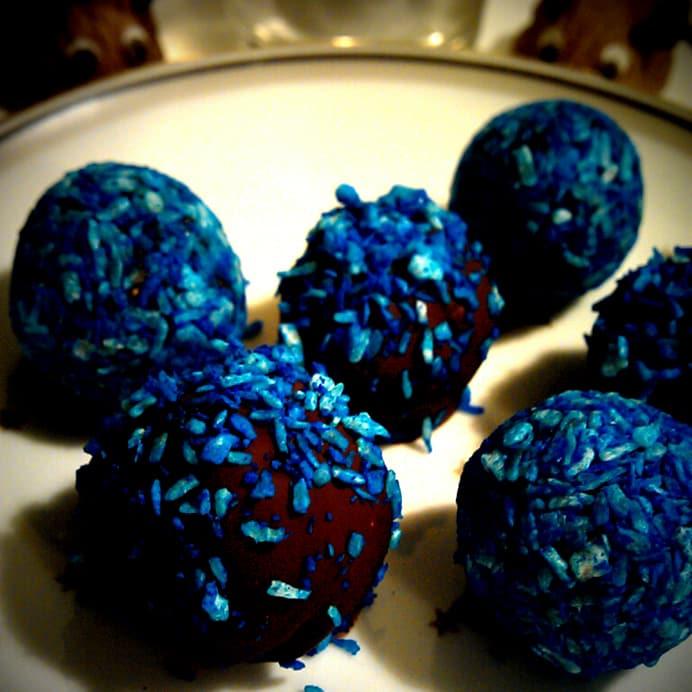 Blåbærhapsere – konfekt (grundmasse)