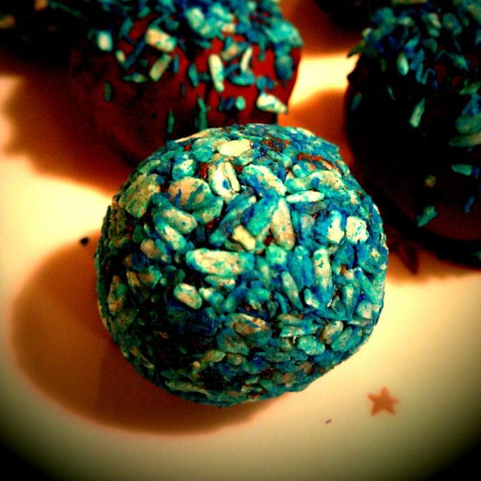 Blå kokos