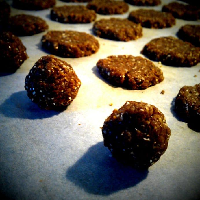 """""""Sunde"""" brunkager - før bagning"""