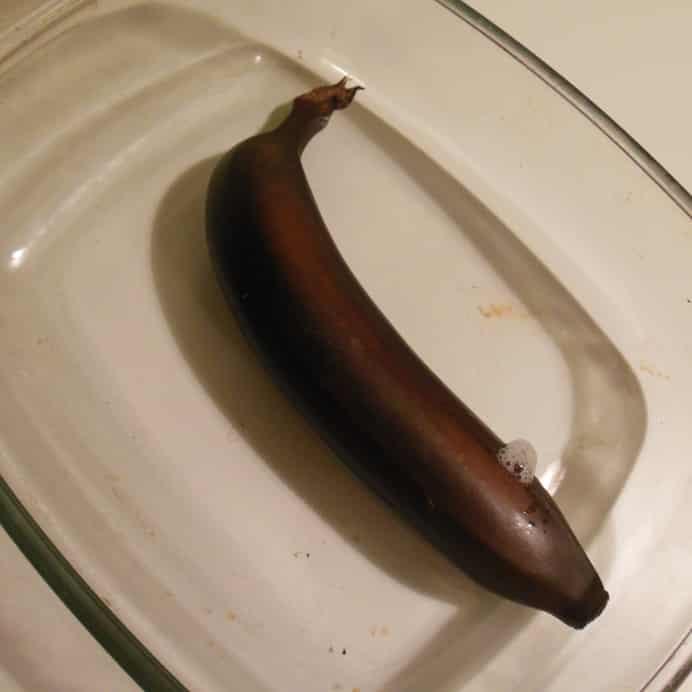 Ovnbagt banan