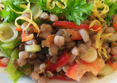 Beluga-byg salat