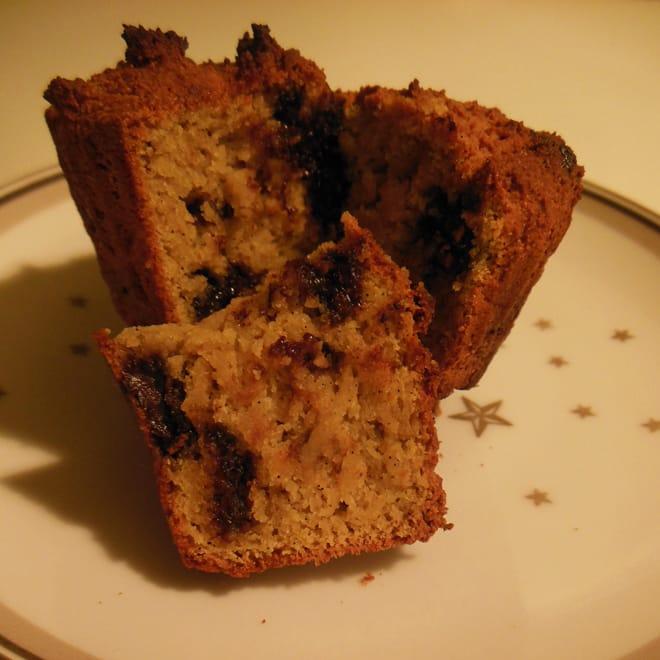 Appelsin-chokolade-marcipan muffins