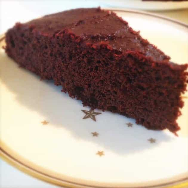 Chokoladekage med rødbeder (gluten- og sukkerfri)